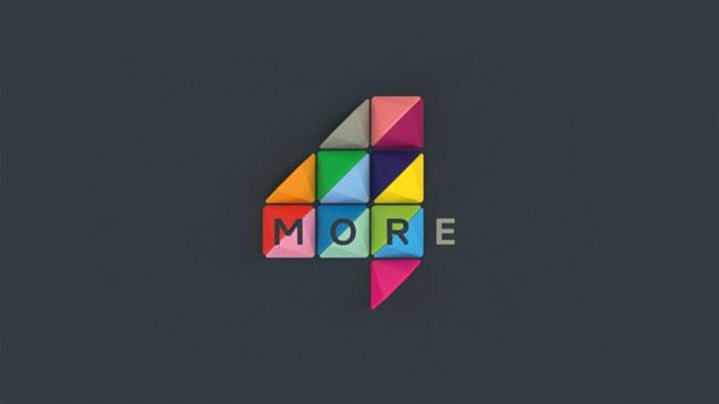 More4 brand identity