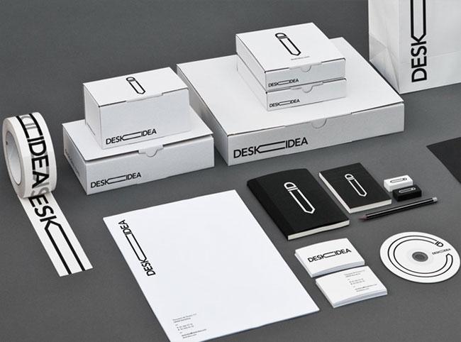 Deskidea brand identity