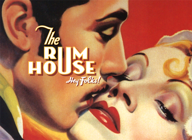 The Rum House identity