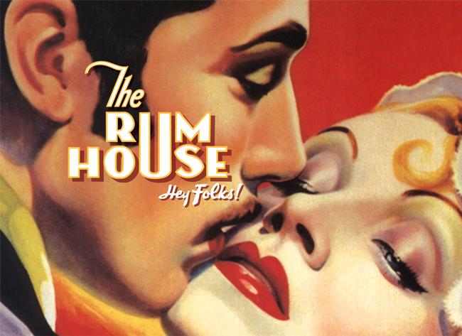 The Rum House identity