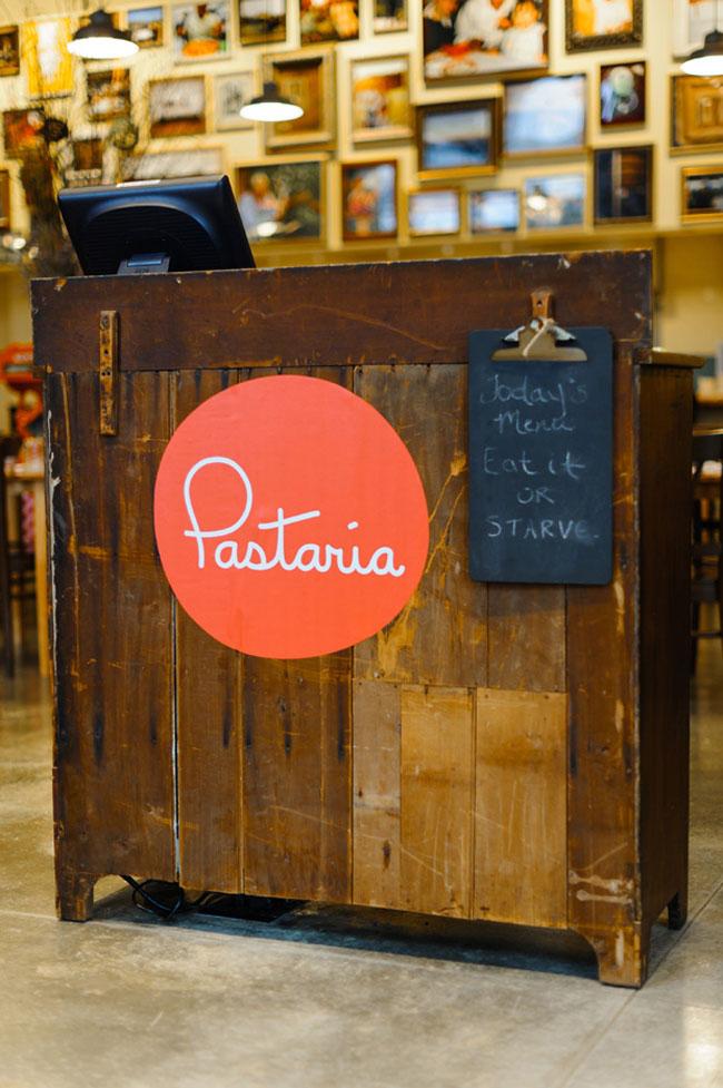 Pastaria logo