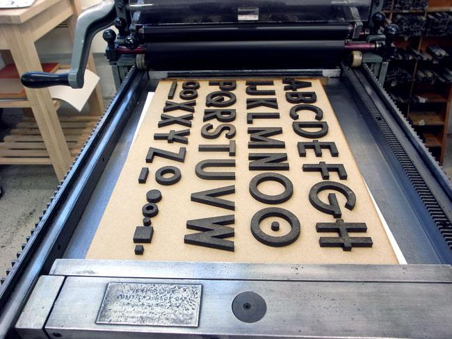 Green Man Festival printing