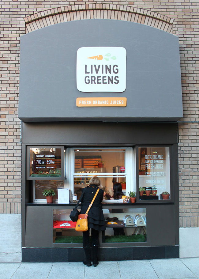 Living Greens store