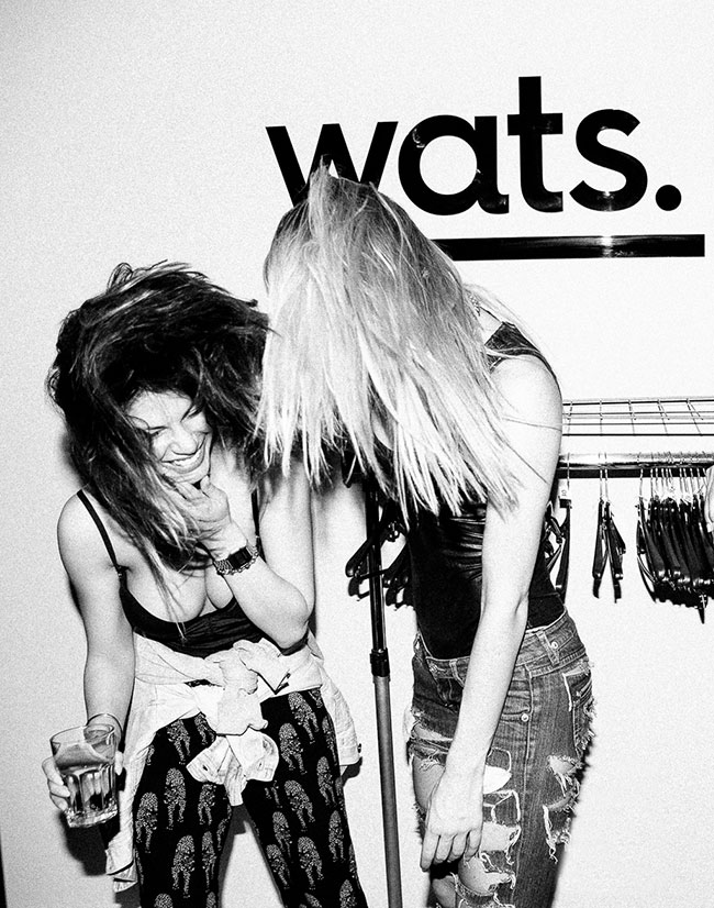 Wats Bar identity