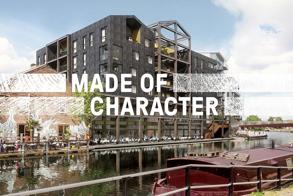 Carpenters Wharf identity