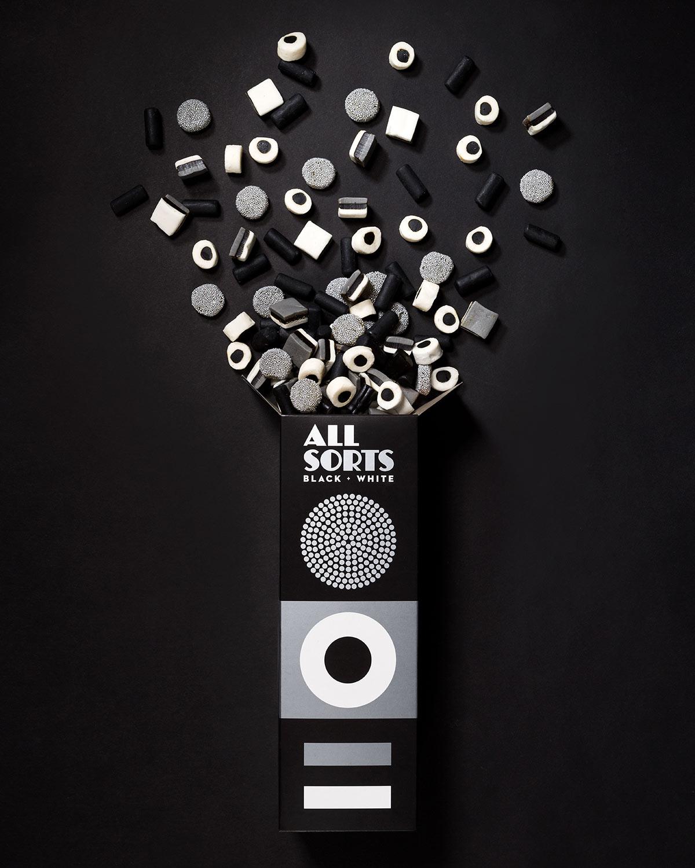 Allsorts Black White
