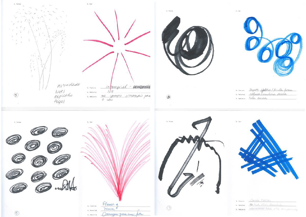 Rio Cello identity sketches