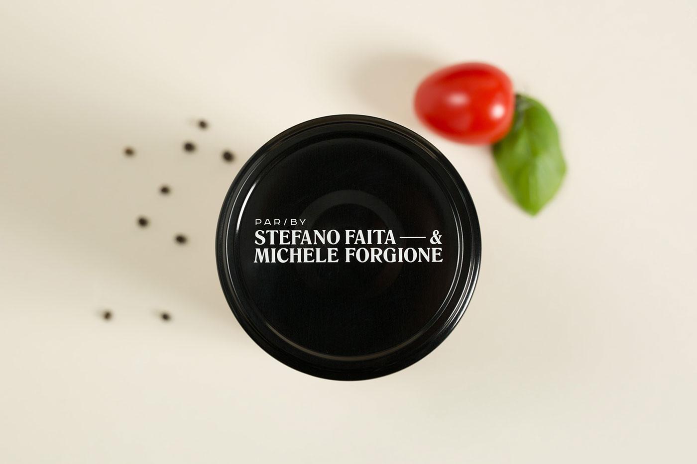 Stefano Faita sauce range identity