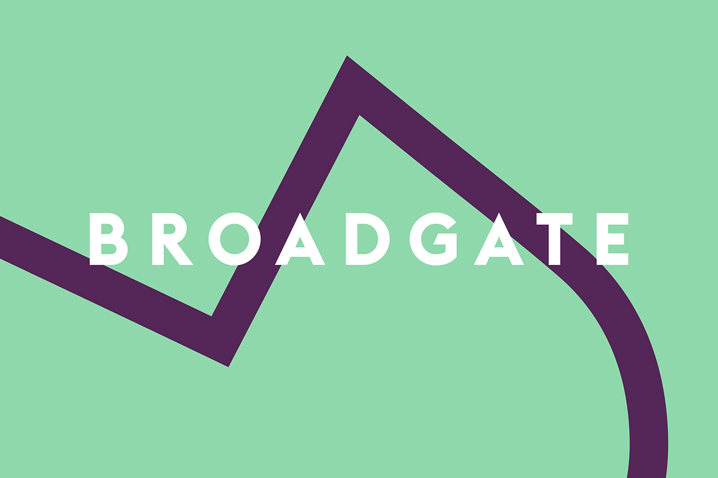 Broadgate logo and identity