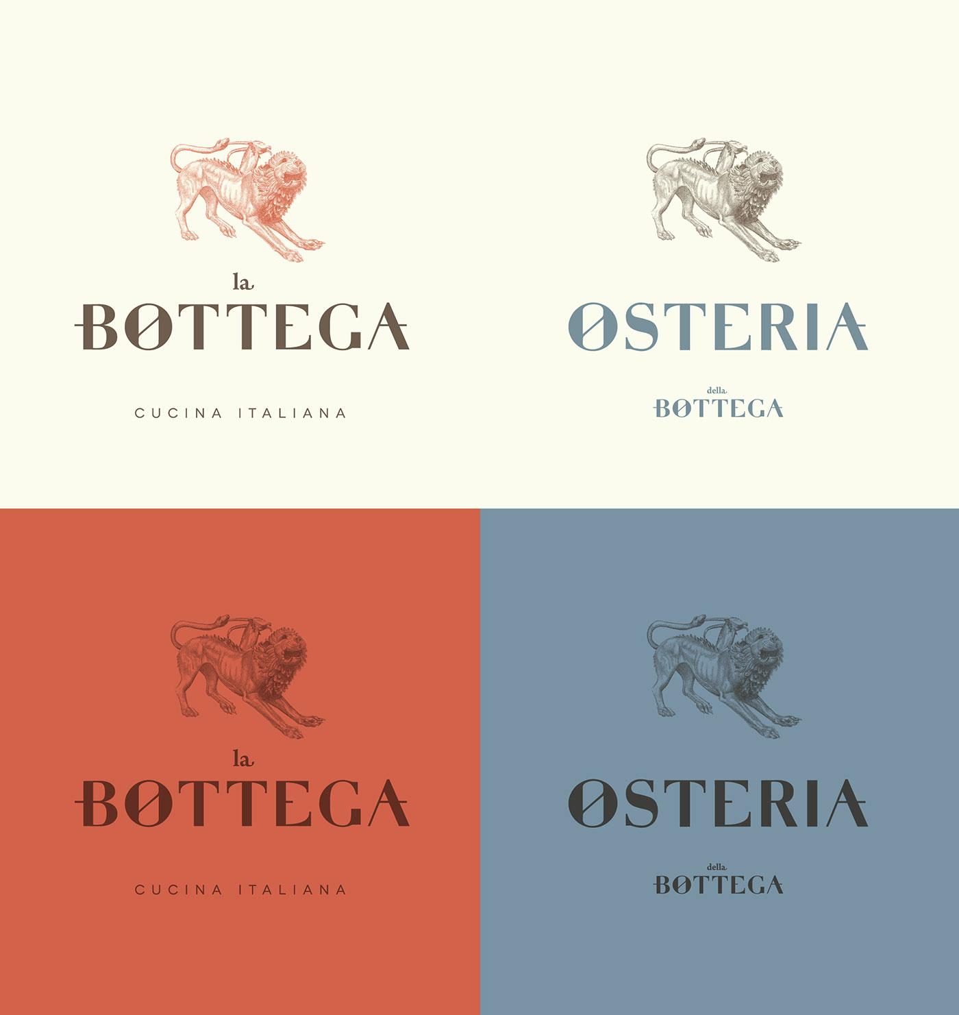 La Bottega identity