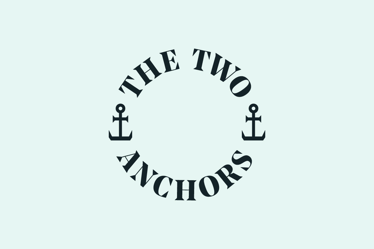 Two Anchors logo