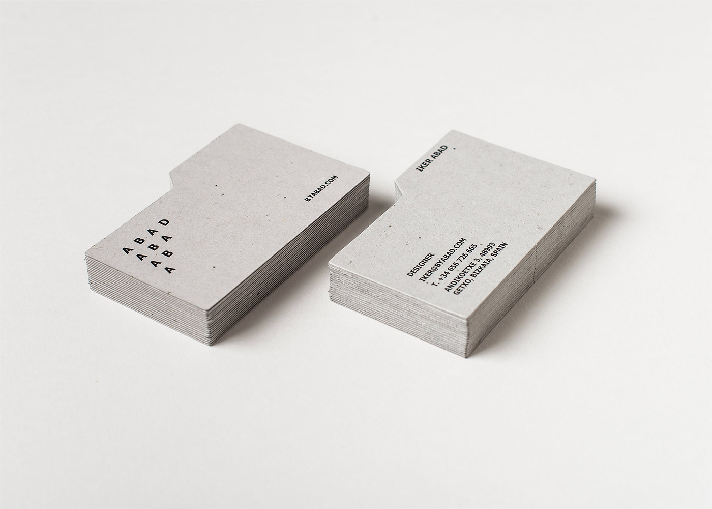 Abad business cards