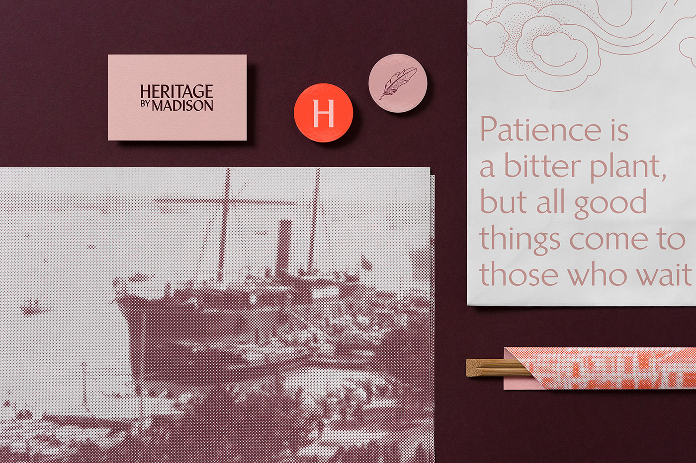 Heritage by Madison identity