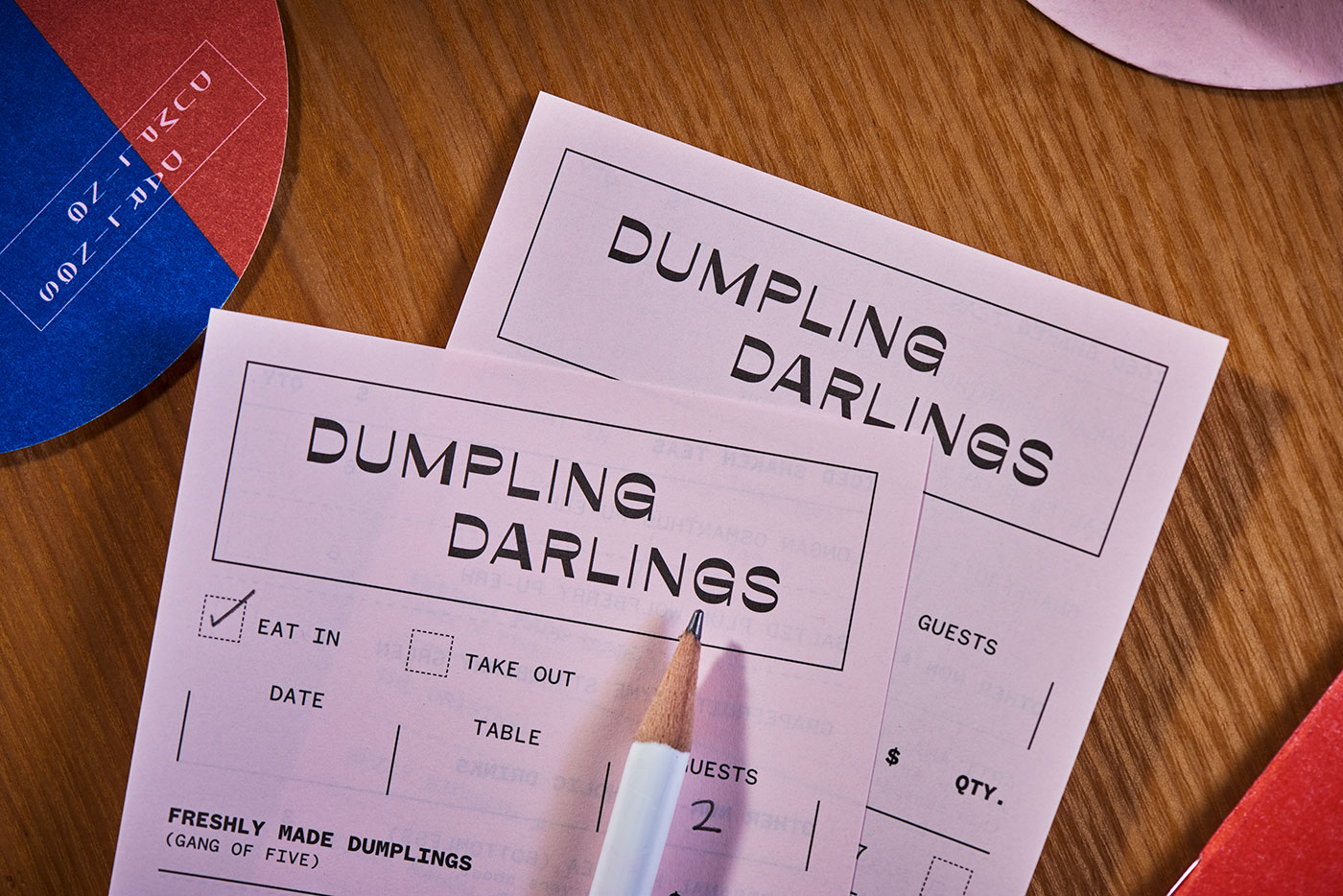 Dumpling Darlings identity