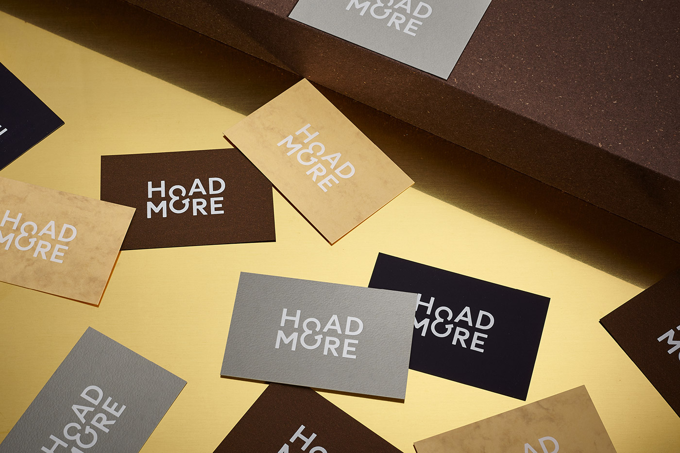 Hoad & More business card design