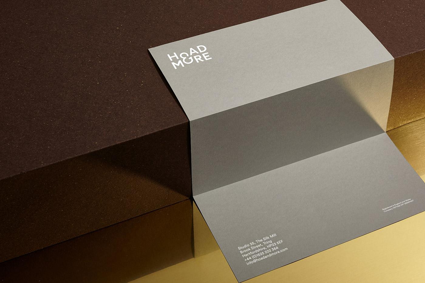 Hoad & More letterhead design