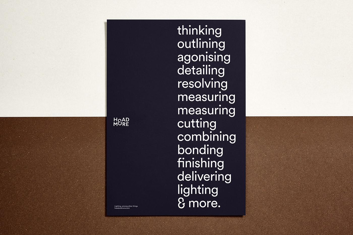 Hoad & More identity design