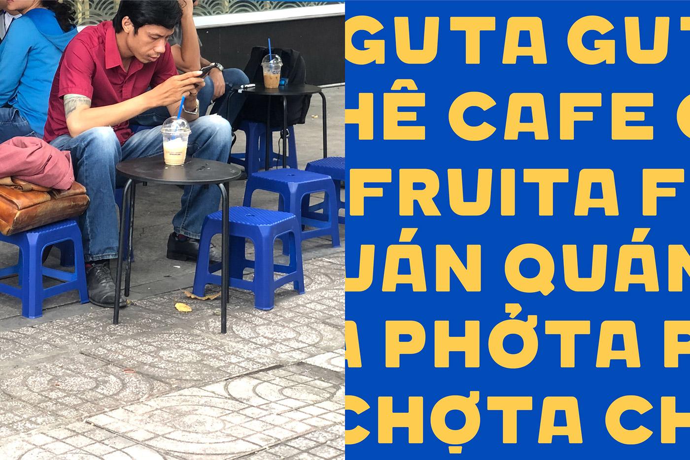 Guta Cafe font Fonta