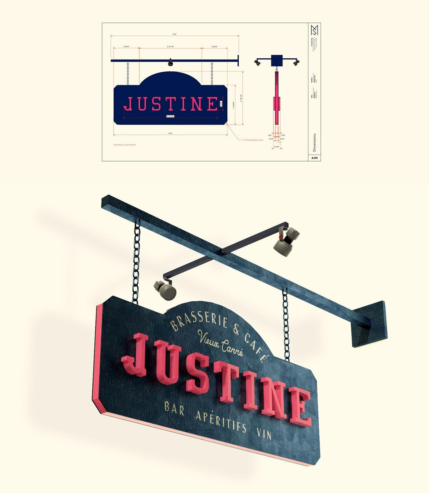 Justine identity