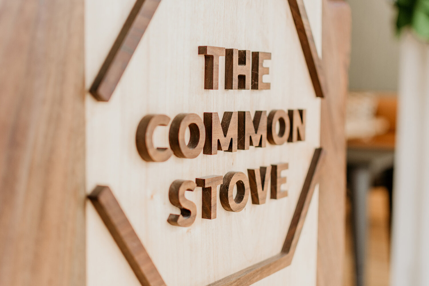 The Common Stove logo