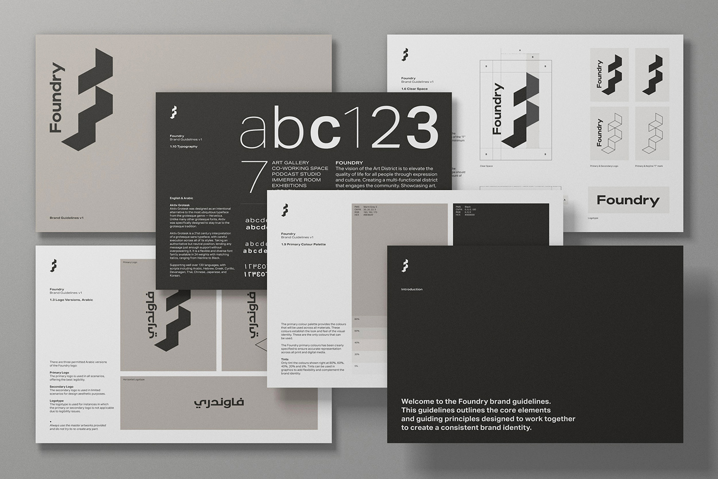 Foundry identity guidelines