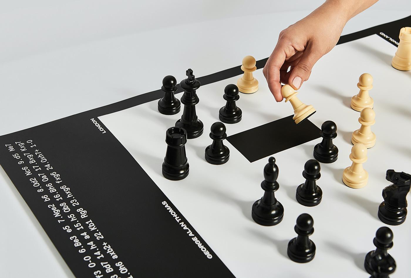 schackbrade poster design