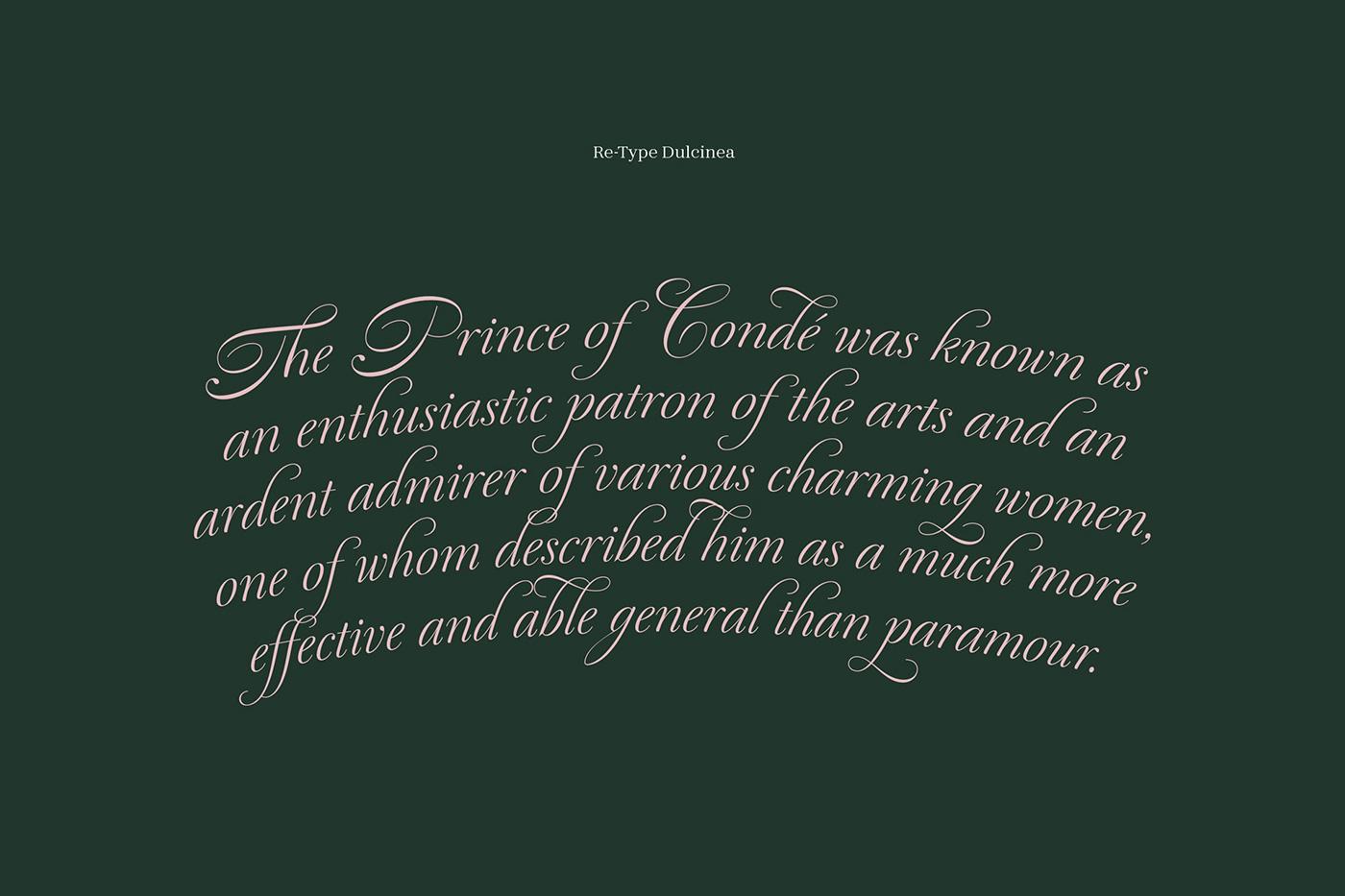 Le Conde typography