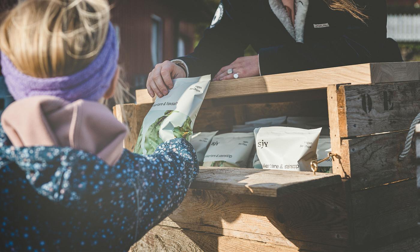 Sjy Seaweed packaging